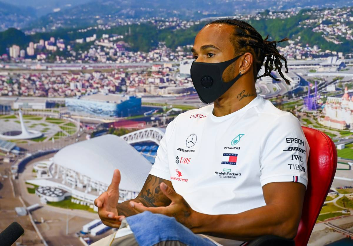 Schumacher record not on Hamilton's mind at Sochi
