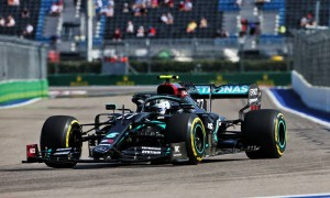 Bottas leads FP1 in Sochi from Ricciardo and Verstappen