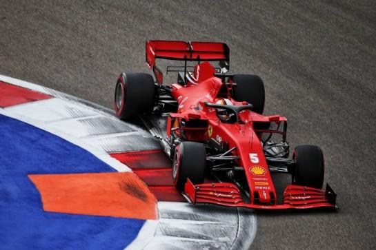 Sebastian Vettel (GER) Ferrari SF1000. 26.09.2020. Formula 1 World Championship, Rd 10, Russian Grand Prix, Sochi Autodrom, Sochi, Russia, Qualifying Day. - www.xpbimages.com, EMail: requests@xpbimages.com © Copyright: Batchelor / XPB Images
