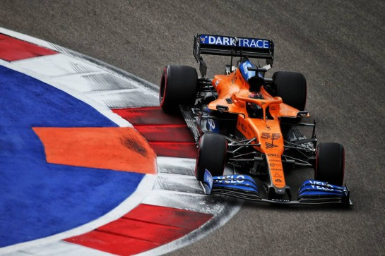 Carlos Sainz Jr (ESP) McLaren MCL35. 26.09.2020. Formula 1 World Championship, Rd 10, Russian Grand Prix, Sochi Autodrom, Sochi, Russia, Qualifying Day. - www.xpbimages.com, EMail: requests@xpbimages.com © Copyright: Batchelor / XPB Images
