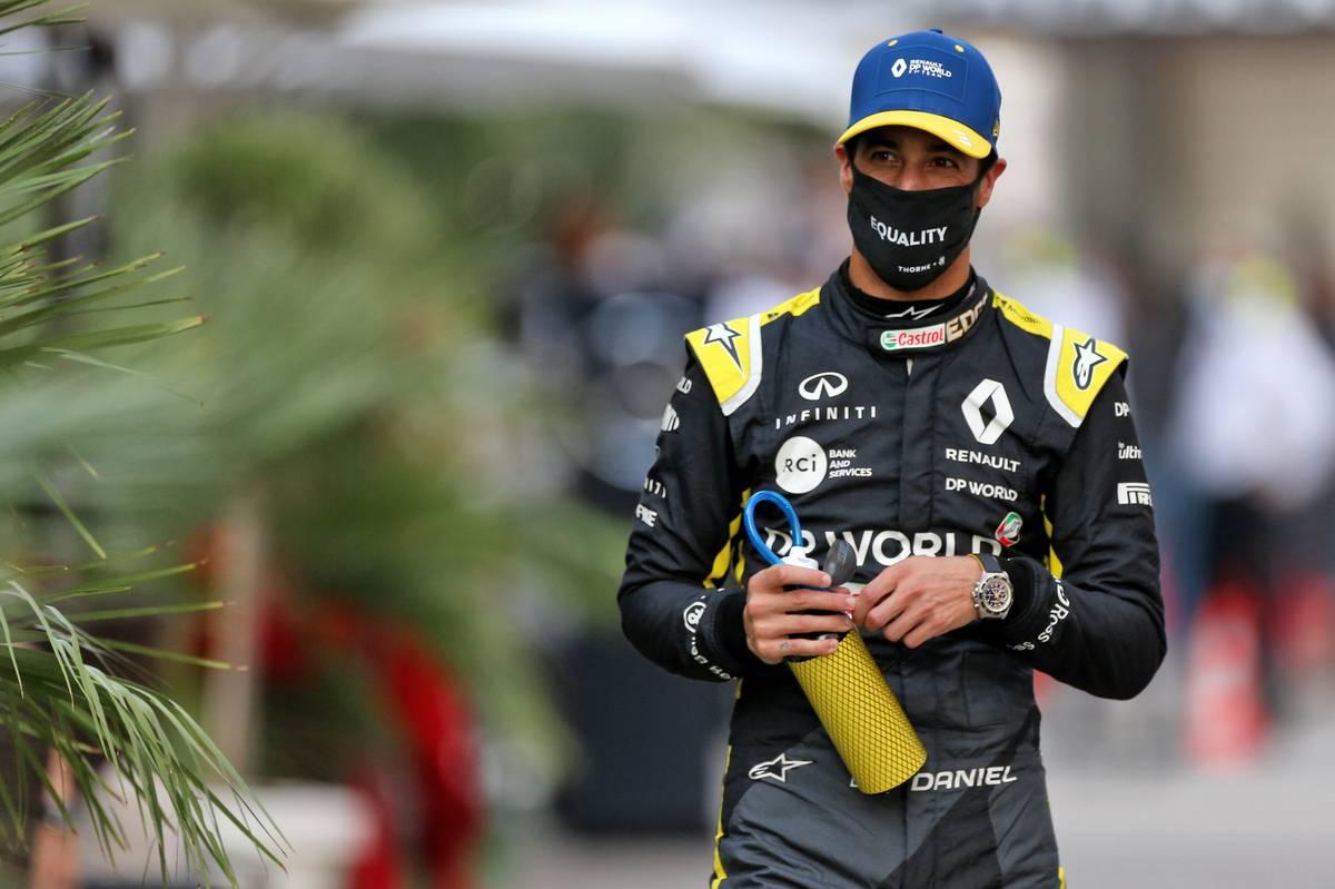 Ricciardo 'can't complain' with P5 in Sochi qualifying