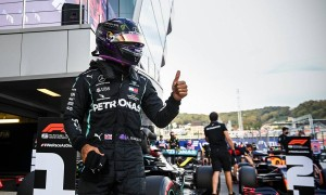 Hamilton keeps pole, avoids further track limit penalty