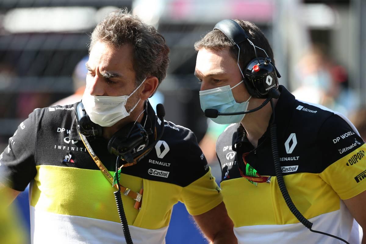 Cyril Abiteboul (FRA) Renault Sport F1 Managing Director. 27.09.2020.
