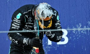 Bottas in bullish mood after clinching victory in Sochi