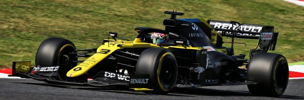 Ricciardo: Renault 'needs luck' to break on to 2020 podium