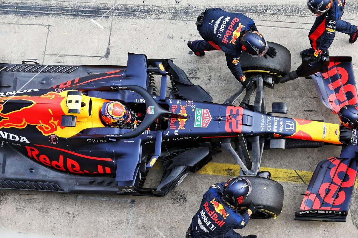 Horner: Pierced radiator deprived Albon of podium chance