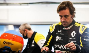Alonso speeds up 2021 preparations with Bahrain test