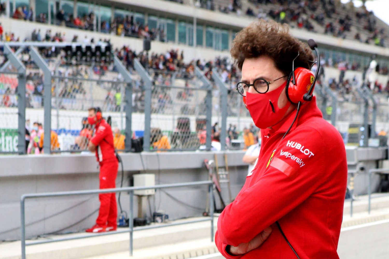 Binotto refutes allegations that Ferrari cars aren't identical