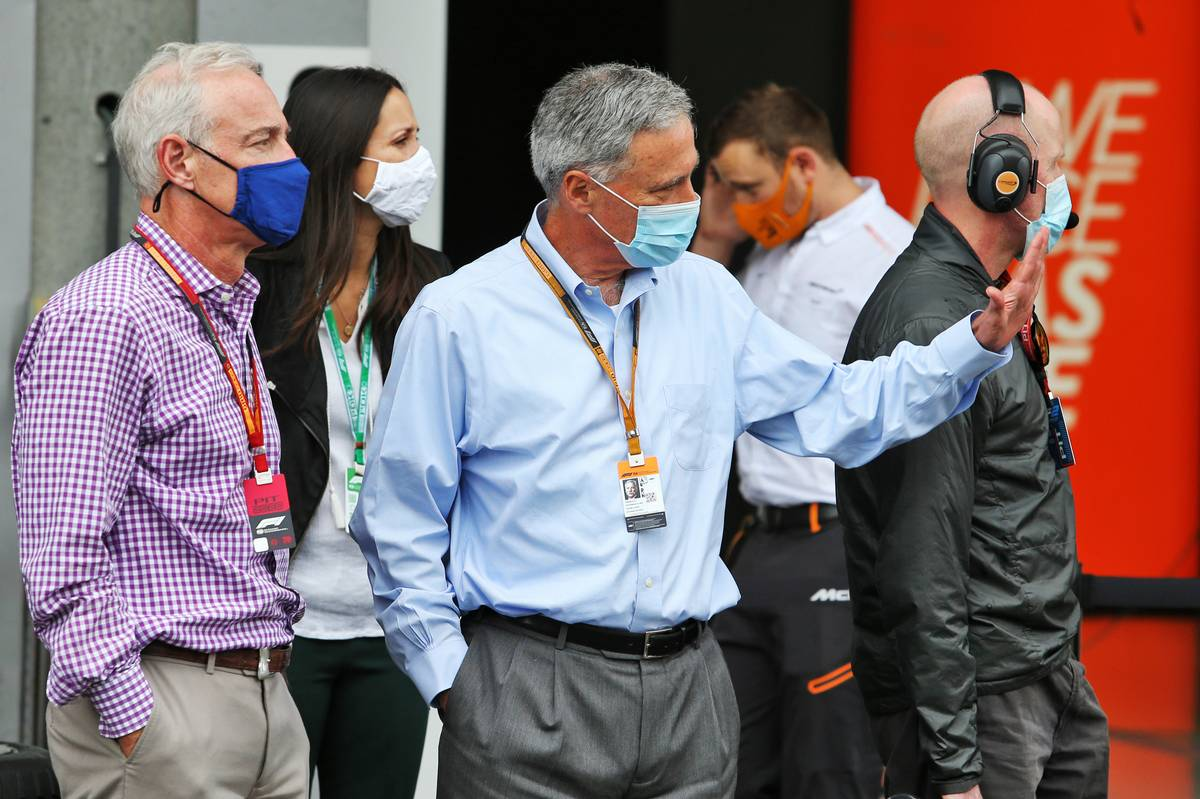 Carey: New F1 CEO the result of 'very broad search'