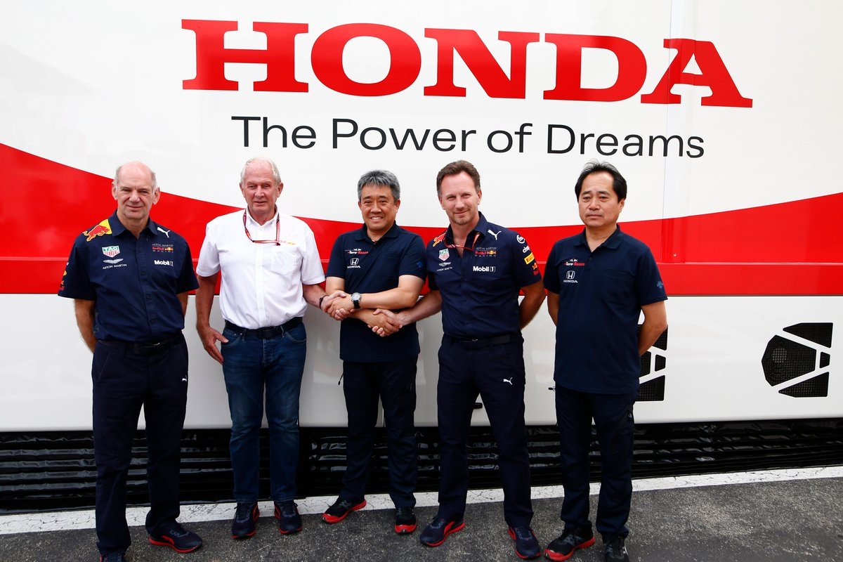 Honda open to shifting engine development to Red Bull from 2022