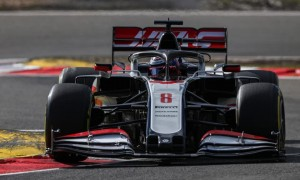 Grosjean happy with maiden points and no 'broken finger'