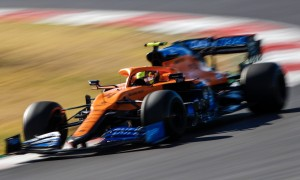 Norris insists P3 in FP2 'doesn't mean anything'