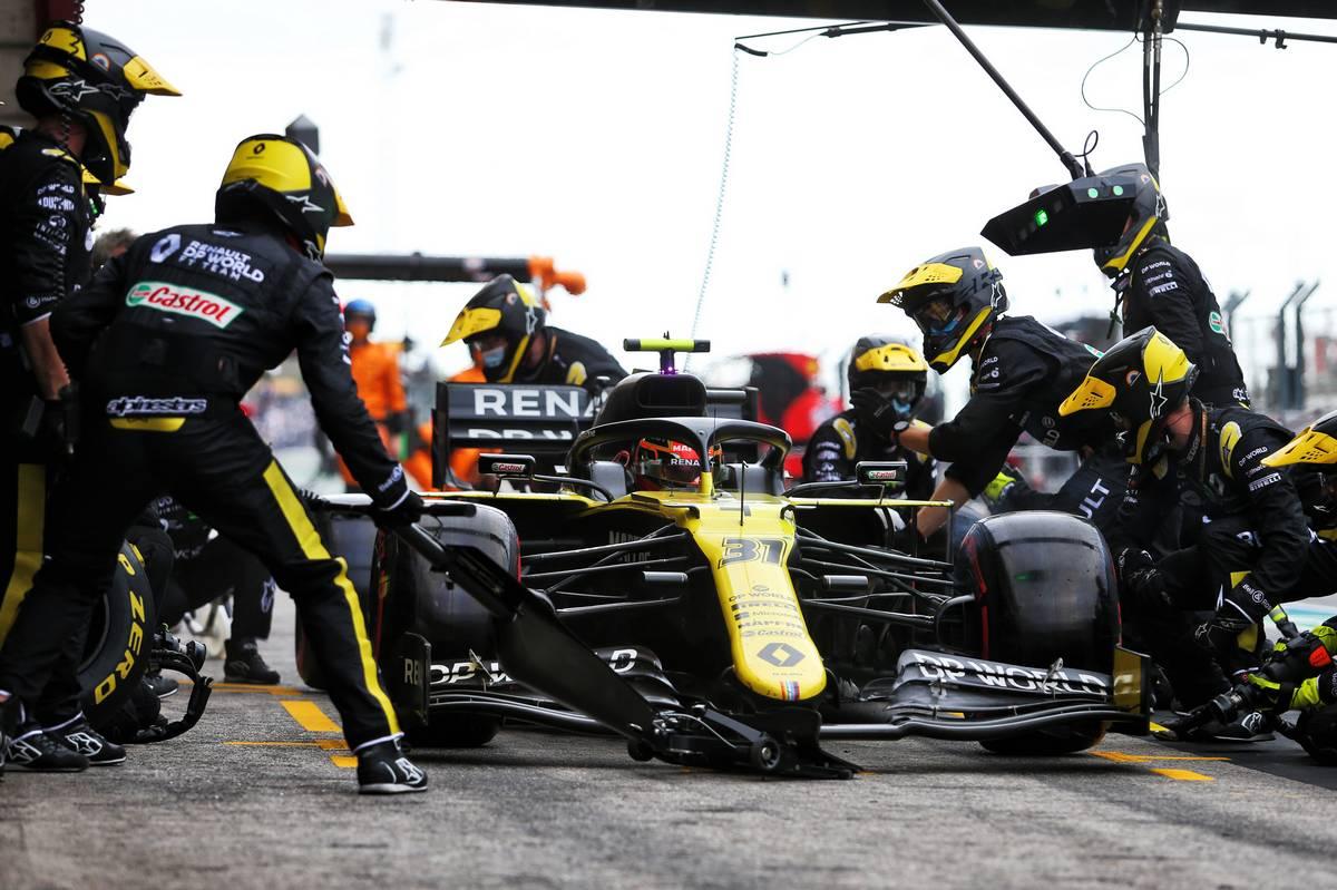 Ocon: Massive medium tyre stint key to outpacing Ricciardo
