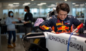 Tsunoda preps for F1 outing with AlphaTauri!