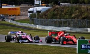 Racing Point puzzled by 'strange' Ferrari disparity