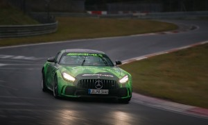 Watch Russell tackle the Nürburgring's 'Green Hell'