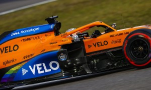 Sainz a little 'out of place' after suffering for 60 laps