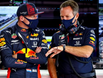 Horner sees 'exciting times ahead' for Verstappen