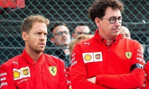 Binotto 'mentally rehearsed' crucial phone call to Vettel