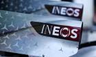 1 engine cover - Ineos branding.