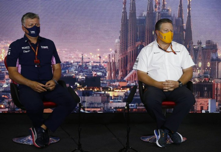 McLaren CEO Zak Brown takes dig at Racing Point over Covid approach