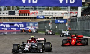Alfa Romeo closing the gap to midfield rivals, says Giovinazzi