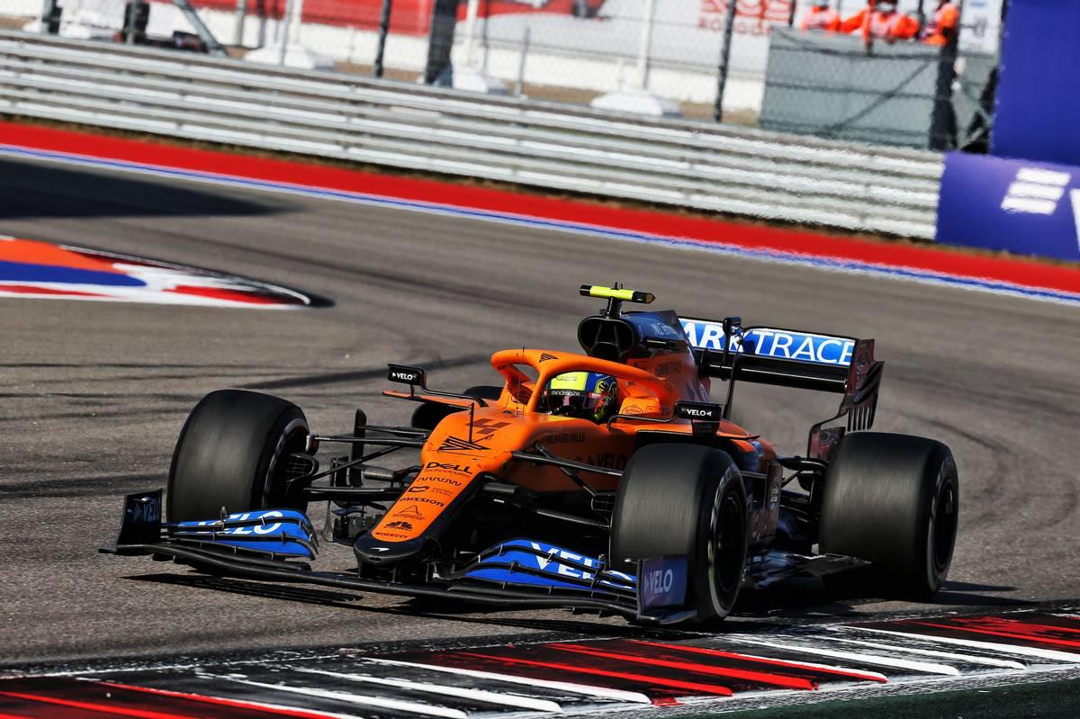 McLaren: New MCL35 nose will help unlock 'more potential'