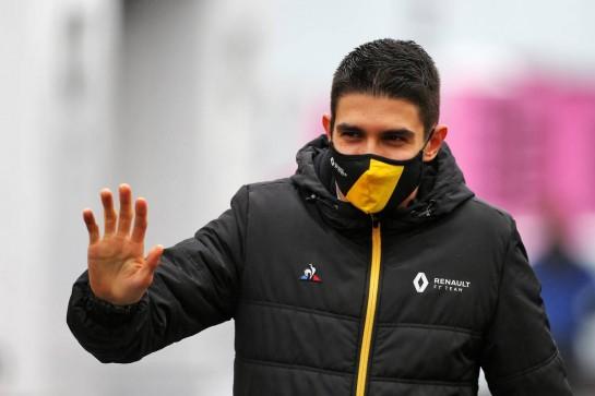 Esteban Ocon (FRA) Renault F1 Team. 08.10.2020. Formula 1 World Championship, Rd 11, Eifel Grand Prix, Nurbugring, Germany, Preparation Day. - www.xpbimages.com, EMail: requests@xpbimages.com © Copyright: Moy / XPB Images