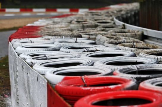 Circuit atmosphere - tyre barrier. 08.10.2020. Formula 1 World Championship, Rd 11, Eifel Grand Prix, Nurbugring, Germany, Preparation Day. - www.xpbimages.com, EMail: requests@xpbimages.com © Copyright: Moy / XPB Images