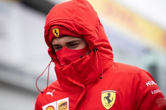 Charles Leclerc (MON) Ferrari. 08.10.2020. Formula 1 World Championship, Rd 11, Eifel Grand Prix, Nurbugring, Germany, Preparation Day. - www.xpbimages.com, EMail: requests@xpbimages.com © Copyright: Bearne / XPB Images