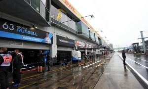 Weather delays opening practice for Eifel Grand Prix