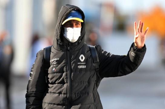 Daniel Ricciardo (AUS) Renault F1 Team. 10.10.2020. Formula 1 World Championship, Rd 11, Eifel Grand Prix, Nurbugring, Germany, Qualifying Day. - www.xpbimages.com, EMail: requests@xpbimages.com © Copyright: Moy / XPB Images