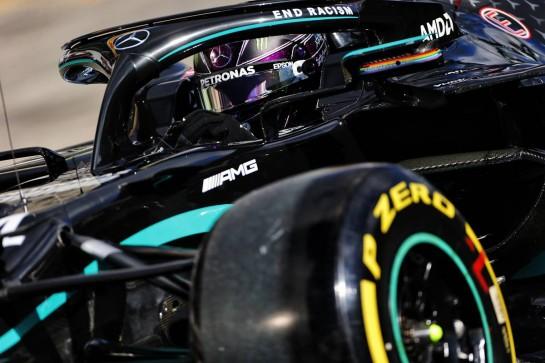 Lewis Hamilton (GBR) Mercedes AMG F1 W11. 10.10.2020. Formula 1 World Championship, Rd 11, Eifel Grand Prix, Nurbugring, Germany, Qualifying Day. - www.xpbimages.com, EMail: requests@xpbimages.com © Copyright: Bearne / XPB Images