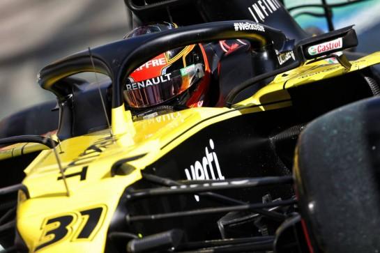 Esteban Ocon (FRA) Renault F1 Team RS20. 10.10.2020. Formula 1 World Championship, Rd 11, Eifel Grand Prix, Nurbugring, Germany, Qualifying Day. - www.xpbimages.com, EMail: requests@xpbimages.com © Copyright: Bearne / XPB Images