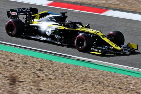 Daniel Ricciardo (AUS) Renault F1 Team RS20. 10.10.2020. Formula 1 World Championship, Rd 11, Eifel Grand Prix, Nurbugring, Germany, Qualifying Day. - www.xpbimages.com, EMail: requests@xpbimages.com © Copyright: Charniaux / XPB Images