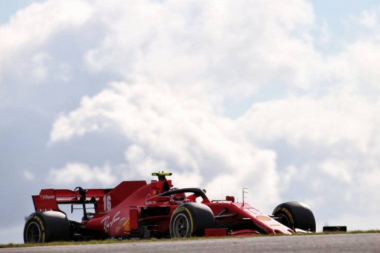 Charles Leclerc (MON) Ferrari SF1000. 10.10.2020. Formula 1 World Championship, Rd 11, Eifel Grand Prix, Nurbugring, Germany, Qualifying Day. - www.xpbimages.com, EMail: requests@xpbimages.com © Copyright: Batchelor / XPB Images
