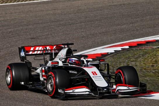 Romain Grosjean (FRA) Haas F1 Team VF-20. 10.10.2020. Formula 1 World Championship, Rd 11, Eifel Grand Prix, Nurbugring, Germany, Qualifying Day. - www.xpbimages.com, EMail: requests@xpbimages.com © Copyright: Batchelor / XPB Images