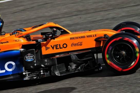 Lando Norris (GBR) McLaren MCL35. 10.10.2020. Formula 1 World Championship, Rd 11, Eifel Grand Prix, Nurbugring, Germany, Qualifying Day. - www.xpbimages.com, EMail: requests@xpbimages.com © Copyright: Batchelor / XPB Images