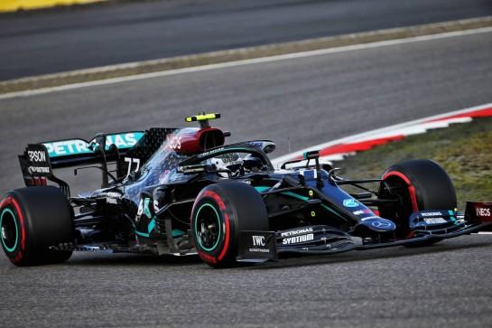 Valtteri Bottas (FIN) Mercedes AMG F1 W11. 10.10.2020. Formula 1 World Championship, Rd 11, Eifel Grand Prix, Nurbugring, Germany, Qualifying Day. - www.xpbimages.com, EMail: requests@xpbimages.com © Copyright: Batchelor / XPB Images