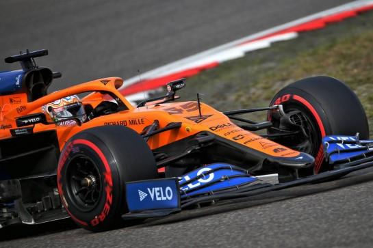 Carlos Sainz Jr (ESP) McLaren MCL35. 10.10.2020. Formula 1 World Championship, Rd 11, Eifel Grand Prix, Nurbugring, Germany, Qualifying Day. - www.xpbimages.com, EMail: requests@xpbimages.com © Copyright: Batchelor / XPB Images