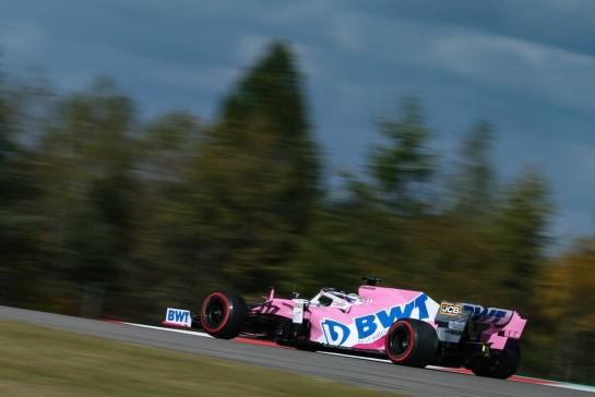 Sergio Perez (MEX), Racing Point 10.10.2020. Formula 1 World Championship, Rd 11, Eifel Grand Prix, Nurbugring, Germany, Qualifying Day.- www.xpbimages.com, EMail: requests@xpbimages.com © Copyright: Charniaux / XPB Images