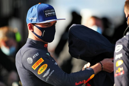 Max Verstappen (NLD) Red Bull Racing in qualifying parc ferme. 10.10.2020. Formula 1 World Championship, Rd 11, Eifel Grand Prix, Nurbugring, Germany, Qualifying Day. - www.xpbimages.com, EMail: requests@xpbimages.com © Copyright: Batchelor / XPB Images