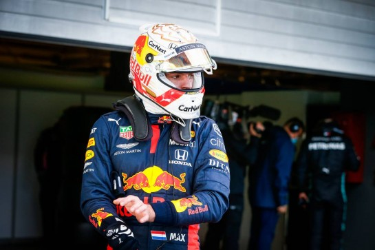 Max Verstappen (NLD) Red Bull Racing in qualifying parc ferme. 10.10.2020. Formula 1 World Championship, Rd 11, Eifel Grand Prix, Nurbugring, Germany, Qualifying Day. - www.xpbimages.com, EMail: requests@xpbimages.com © Copyright: FIA Pool Image for Editorial Use Only