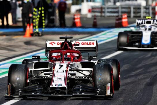 Kimi Raikkonen (FIN) Alfa Romeo Racing C39. 10.10.2020. Formula 1 World Championship, Rd 11, Eifel Grand Prix, Nurbugring, Germany, Qualifying Day. - www.xpbimages.com, EMail: requests@xpbimages.com © Copyright: Moy / XPB Images