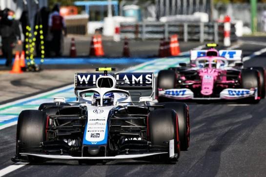 Nicholas Latifi (CDN) Williams Racing FW43. 10.10.2020. Formula 1 World Championship, Rd 11, Eifel Grand Prix, Nurbugring, Germany, Qualifying Day. - www.xpbimages.com, EMail: requests@xpbimages.com © Copyright: Moy / XPB Images
