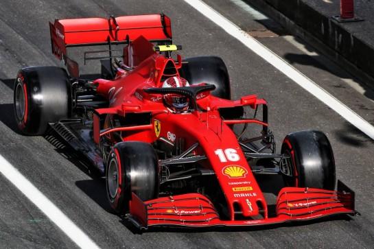 Charles Leclerc (MON) Ferrari SF1000. 10.10.2020. Formula 1 World Championship, Rd 11, Eifel Grand Prix, Nurbugring, Germany, Qualifying Day. - www.xpbimages.com, EMail: requests@xpbimages.com © Copyright: Moy / XPB Images