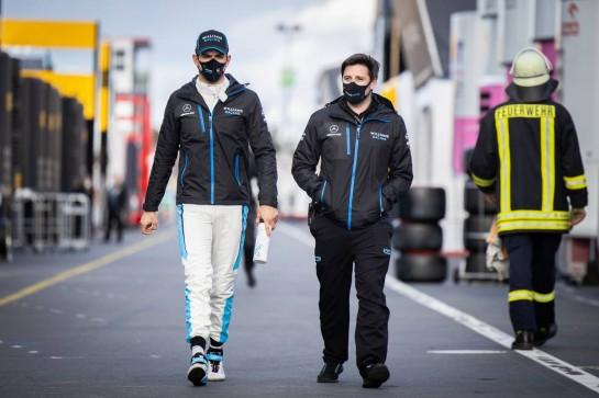 Nicholas Latifi (CDN) Williams Racing. 10.10.2020. Formula 1 World Championship, Rd 11, Eifel Grand Prix, Nurbugring, Germany, Qualifying Day. - www.xpbimages.com, EMail: requests@xpbimages.com © Copyright: Bearne / XPB Images