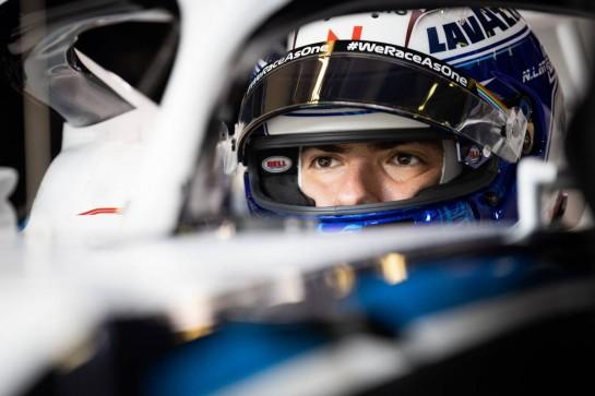 Nicholas Latifi (CDN) Williams Racing FW43. 10.10.2020. Formula 1 World Championship, Rd 11, Eifel Grand Prix, Nurbugring, Germany, Qualifying Day. - www.xpbimages.com, EMail: requests@xpbimages.com © Copyright: Bearne / XPB Images