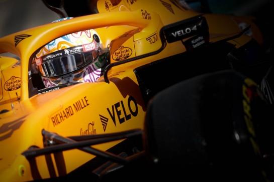 Carlos Sainz Jr (ESP) McLaren MCL35. 10.10.2020. Formula 1 World Championship, Rd 11, Eifel Grand Prix, Nurbugring, Germany, Qualifying Day. - www.xpbimages.com, EMail: requests@xpbimages.com © Copyright: Bearne / XPB Images