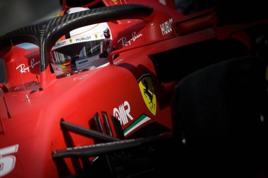 Sebastian Vettel (GER) Ferrari SF1000. 10.10.2020. Formula 1 World Championship, Rd 11, Eifel Grand Prix, Nurbugring, Germany, Qualifying Day. - www.xpbimages.com, EMail: requests@xpbimages.com © Copyright: Bearne / XPB Images